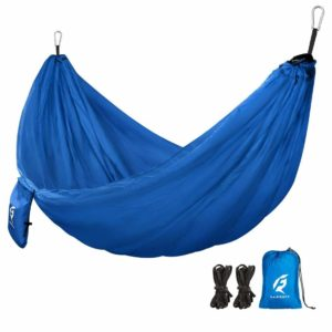 QF Single Camping Hammock with 10FT Tree Straps